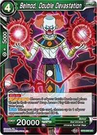 Belmod, Double Devastation, Dragon Ball Super CCG, Universal Onslaught
