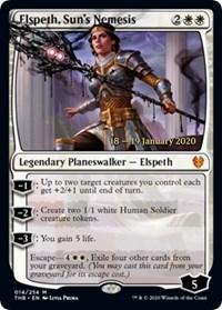 Elspeth, Sun's Nemesis, Magic: The Gathering, Prerelease Cards