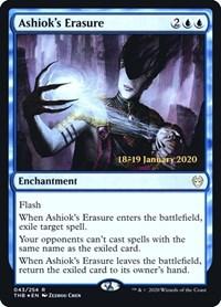 Ashiok's Erasure, Magic: The Gathering, Prerelease Cards