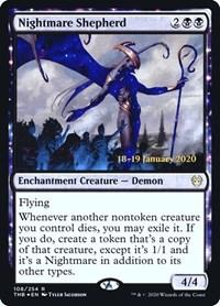 Nightmare Shepherd, Magic: The Gathering, Prerelease Cards