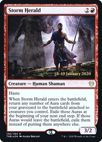 Storm Herald, Magic: The Gathering, Prerelease Cards