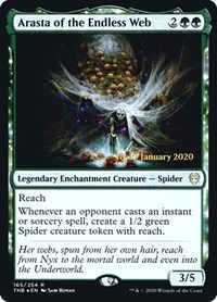 Arasta of the Endless Web, Magic: The Gathering, Prerelease Cards
