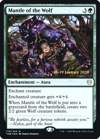 Mantle of the Wolf, Magic: The Gathering, Prerelease Cards