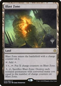 Blast Zone, Magic: The Gathering, Promo Pack: Theros Beyond Death