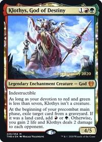 Klothys, God of Destiny (Foil)