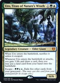 Uro, Titan of Nature's Wrath, Magic: The Gathering, Prerelease Cards