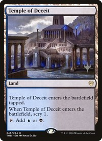 Temple of Deceit, Magic: The Gathering, Promo Pack: Theros Beyond Death
