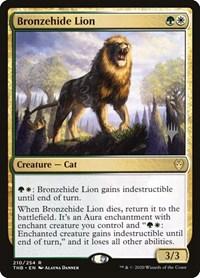 Bronzehide Lion, Magic, Promo Pack: Theros Beyond Death