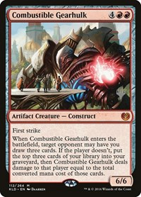 Combustible Gearhulk, Magic: The Gathering, Promo Pack: Theros Beyond Death