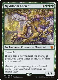 Russian Foil Nyxbloom Ancient Promo Sealed MTG Theros Beyond Death
