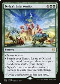 Nylea's Intervention, Magic: The Gathering, Promo Pack: Theros Beyond Death