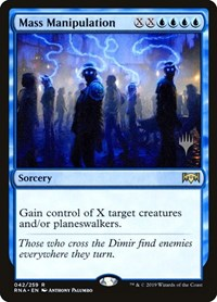 Mass Manipulation, Magic: The Gathering, Promo Pack: Theros Beyond Death