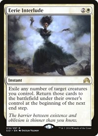 Eerie Interlude, Magic: The Gathering, Promo Pack: Theros Beyond Death