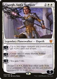 Elspeth, Sun's Nemesis, Magic: The Gathering, Promo Pack: Theros Beyond Death