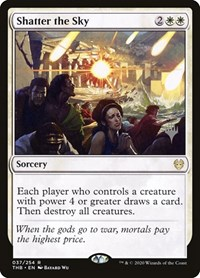 Shatter the Sky, Magic: The Gathering, Promo Pack: Theros Beyond Death