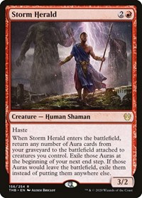 Storm Herald, Magic: The Gathering, Promo Pack: Theros Beyond Death