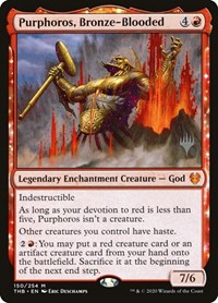 Purphoros, Bronze-Blooded, Magic: The Gathering, Promo Pack: Theros Beyond Death