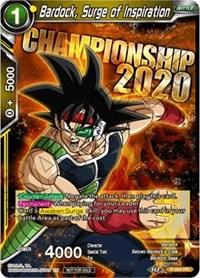 Bardock, Surge of Inspiration, Dragon Ball Super CCG, Promotion Cards