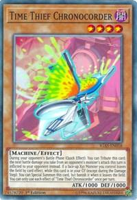 Time Thief Chronocorder, YuGiOh, Ignition Assault