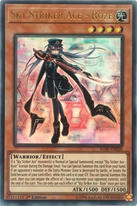 Sky Striker Ace - Roze, YuGiOh, Ignition Assault