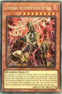 Gizmek Kaku, the Supreme Shining Sky Stag, YuGiOh, Ignition Assault