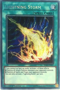 Lightning Storm, YuGiOh, Ignition Assault