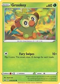 Grookey (010), Pokemon, SWSH01: Sword & Shield Base Set