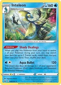 Inteleon (058), Pokemon, SWSH01: Sword & Shield Base Set