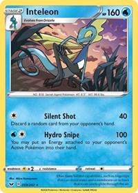 Inteleon (059), Pokemon, SWSH01: Sword & Shield Base Set