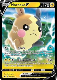 Morpeko V, Pokemon, SWSH01: Sword & Shield Base Set