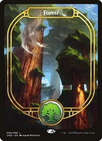 Forest (Full Art), Magic: The Gathering, Unsanctioned