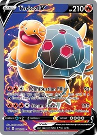 Torkoal V (Full Art), Pokemon, SWSH01: Sword & Shield Base Set