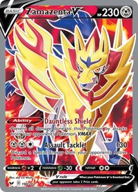 Zamazenta V (Full Art), Pokemon, SWSH01: Sword & Shield Base Set