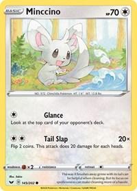Minccino (145), Pokemon, SWSH01: Sword & Shield Base Set