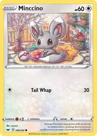 Minccino (146), Pokemon, SWSH01: Sword & Shield Base Set