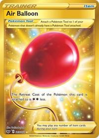Air Balloon (Secret), Pokemon, SWSH01: Sword & Shield Base Set