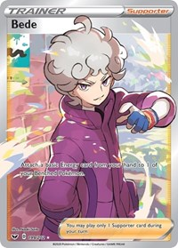 Bede (Full Art), Pokemon, SWSH01: Sword & Shield Base Set