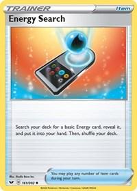 Energy Search, Pokemon, SWSH01: Sword & Shield Base Set