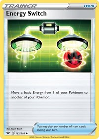 Energy Switch, Pokemon, SWSH01: Sword & Shield Base Set