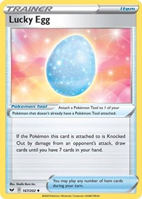 Lucky Egg, Pokemon, SWSH01: Sword & Shield Base Set