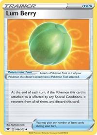 Lum Berry, Pokemon, SWSH01: Sword & Shield Base Set