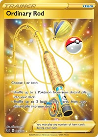 Ordinary Rod (Secret), Pokemon, SWSH01: Sword & Shield Base Set