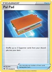 Pal Pad, Pokemon, SWSH01: Sword & Shield Base Set