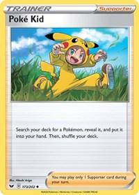 Poke Kid, Pokemon, SWSH01: Sword & Shield Base Set