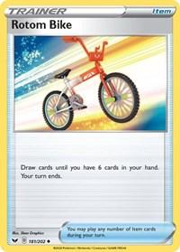 Rotom Bike, Pokemon, SWSH01: Sword & Shield Base Set