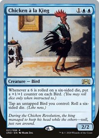 Chicken à la King, Magic: The Gathering, Unsanctioned