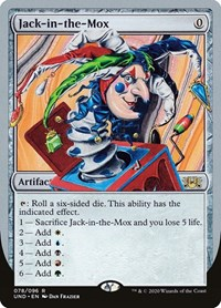 Jack-in-the-Mox, Magic: The Gathering, Unsanctioned
