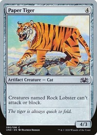 Paper Tiger, Magic: The Gathering, Unsanctioned