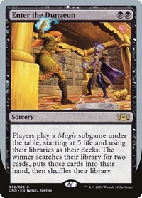 Enter the Dungeon, Magic: The Gathering, Unsanctioned