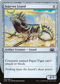 Scissors Lizard, Magic: The Gathering, Unsanctioned